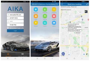نرم افزار AIKA GPS